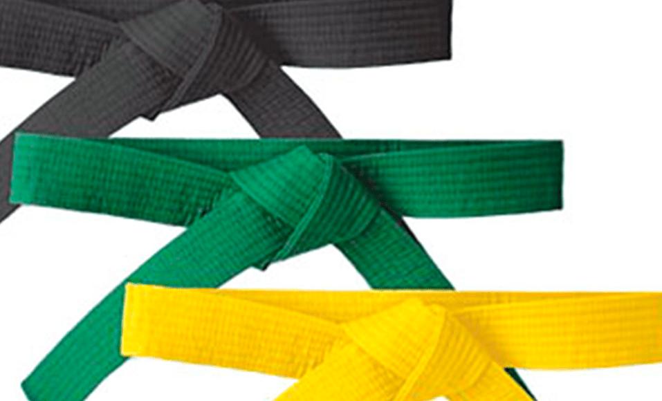 Faixas Preta, Verde e Amarela