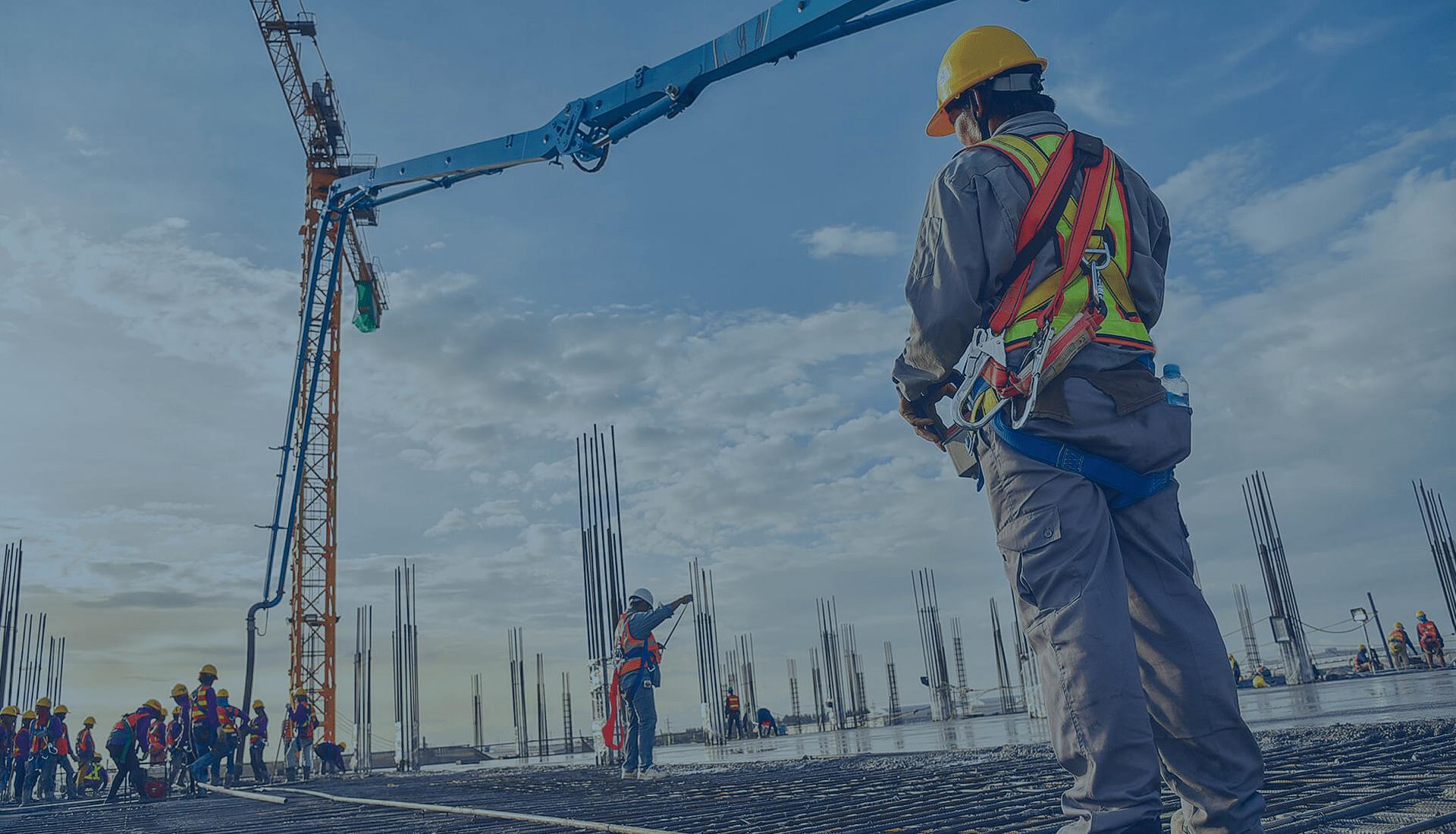 Otimizar processos em construção civil